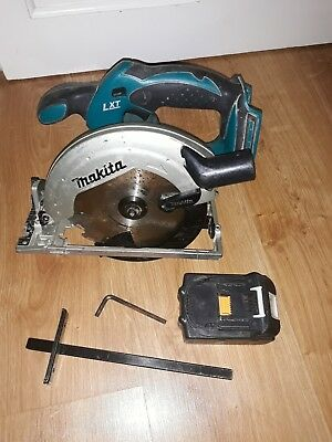 Makita Cordless Circular Saw - DSS611 - 18V comes with 3Ah battery.