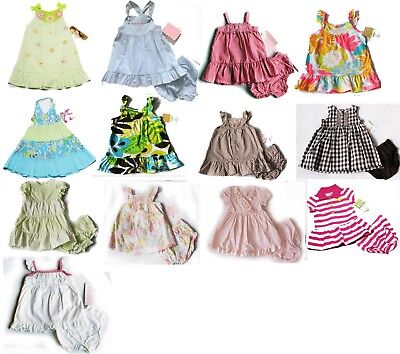 NWT Carters Girls Dress Chaps Playwear Outfit NB 3m 6m 9m 12m 24m 3T 4T NEW