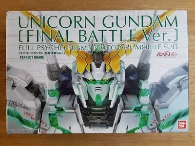 PG 1/60 RX-0 Unicorn Gundam Final Battle ver. Plastic Model Kit Premium Bandai