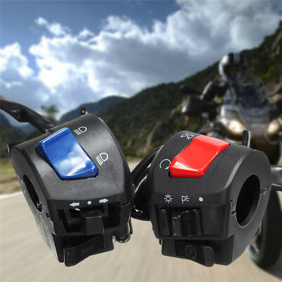 "12V DC 7/8"" Motorcycle Control Switch Turn SignalLight Indicator Horn~"