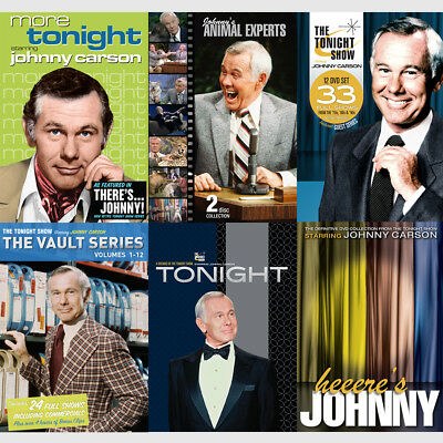 Johnny Carson Tonight Show The TOTAL Collection 56 DVDs - Everything Released!!
