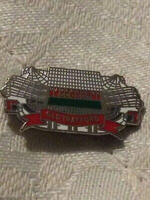Manchester United Old Trafford Badge Brand New