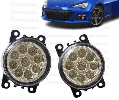 Subaru BRZ / Toyota GT86 Super Bright LED 6000K Front Bumper Fog Lights Lamps