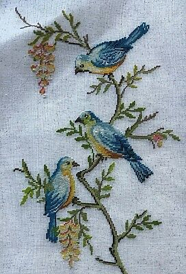 """""""Out on a Limb"""" Preworked Needlepoint"""