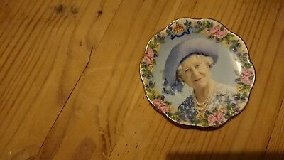 Fenton Bone China Queen Mother small plate