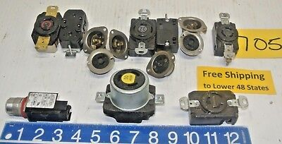 Misc. Electrical Plugs Machine Shop Tool  Free Shipping Today!