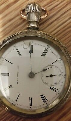 Antique seth Thomas Large Pocket Watch