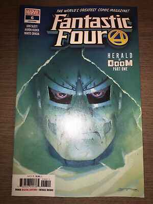 Fantastic Four #6 - Regular Cover - 1St Print - Marvel (2019)