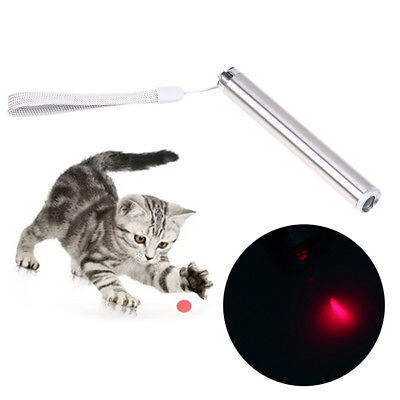 Interactive LED Light Training Funny Cat Teaser Play Toy Red Laser Pointer Pen