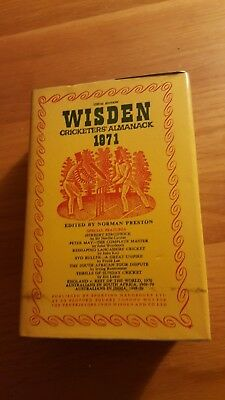 Wisden Cricketers: Almanack 1971 Hardback with Dust Cover