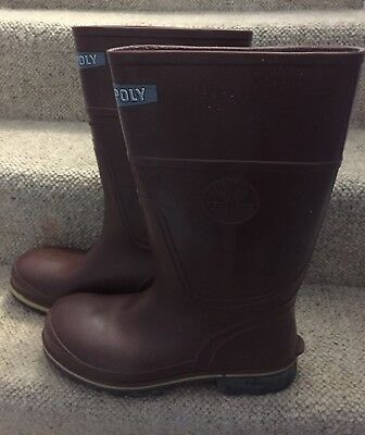 Respirex Safety Wellingtons Boots Chemical/Toe Cap/Mid Sole Protection EN345/943