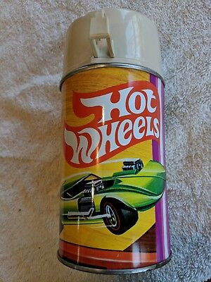 Hot Wheels Lunch Box Thermos (Thermos Only) 1969 metal