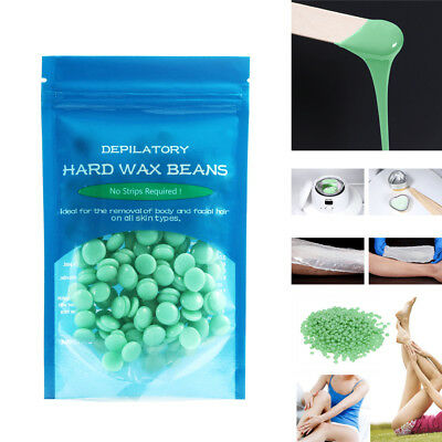 50g Depilatory Hard Wax Beans Waxing Effective Body Hair Removal High-moisture