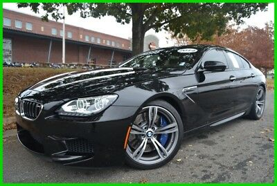2014 BMW 6-Series M6 GRAN COUPE BLACK SAPPHIRE METALLIC WE TRADE & FINANCE 4.4L V8 32V AUTO CLEAN CARFAX FULLY LOADED CARBON ROOF / INTERIOR NEW MICHELINS!