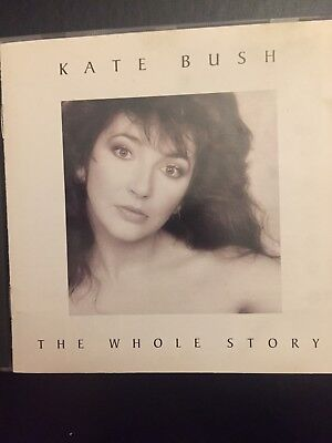 Kate Bush The Whole Story Used 12 Track Greatest Hits Cd 70s 80s Pop Rock Best