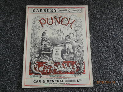 Punch. Dated June 19th 1946. Issue No. 5503.