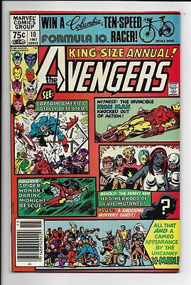 Avengers Annual #10 (Vol 1) : Fine+ 6.5 : First Appearance Rogue : X-Men