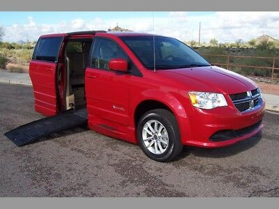 2014 Dodge Grand Caravan SXT Wheelchair Handicap Mobility Van 2014 Dodge Grand Caravan SXT Wheelchair Handicap Mobility Van Low Miles