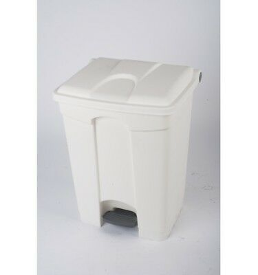 CONTAINER 70L blanc couvercle blanc