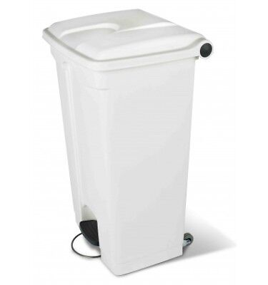 CONTAINER 90L blanc couvercle blanc