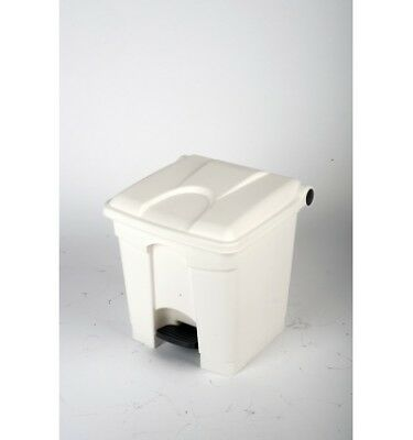 CONTAINER 30L blanc couvercle blanc
