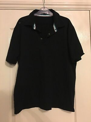 Mens Polo Shirt F1 Yas Marina Circuit Size XXL Black