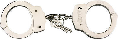 Fury 15902 Tactical Handcuffs Nickel Plated Steel Construction w/ 2 Keys