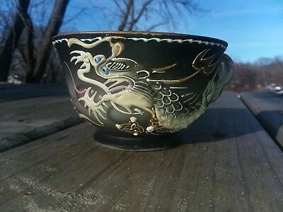 Dragonware Japan Moriage Demitasse Painted Tea Cup By Betson