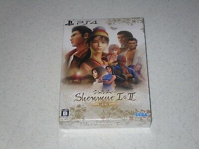 Shenmue I & II Limited Edition For Playstation 4 Import Sealed