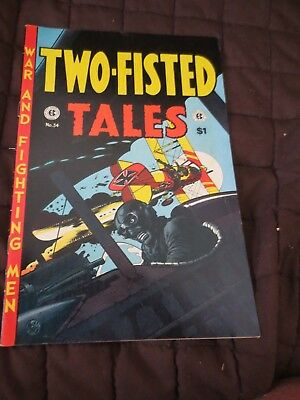 E. C. CLASSIC REPRINT #9 VF, TWO-FISTED TALES #34, EC, East Coast Comics 1974