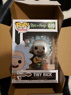 Funko Pop! Animation: Rick and Morty Tiny Rick (Box Lunch Exclusive) #489