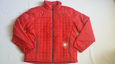 The North Face Men's Frequentative Quilted Puffer Full Zip Jacket Red Great Gift