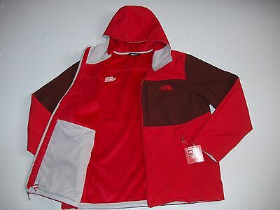 NEW The North Face Men's Preuss Windwall Softshell Hoodie Jacket Coat Great Gift