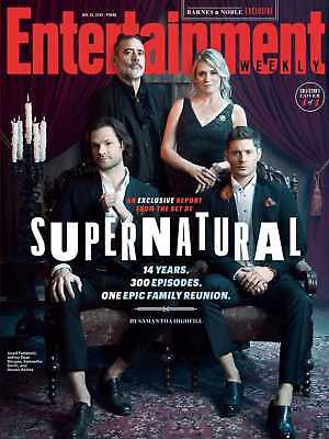 The Supernatural Family Reunion Group - Entertainment Weekly - January 2019 Cv4