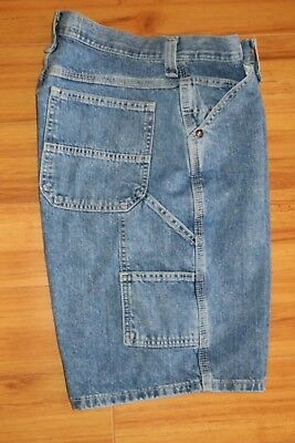 794f270808 Lee Dungarees Carpenter Jeans Shorts Painter Utility Mens Size 30 Inseam  10.5