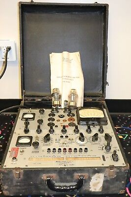 Vintage Hickok Tube Tester Model 539B ~ Lights Up ~ Untested ~ Needs restored ~