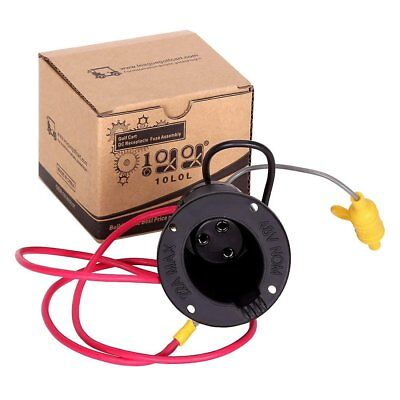DS Golf Cart DC Receptacle & 48V Fuse Assembly #101802101 Fit Club Car Golf Cart