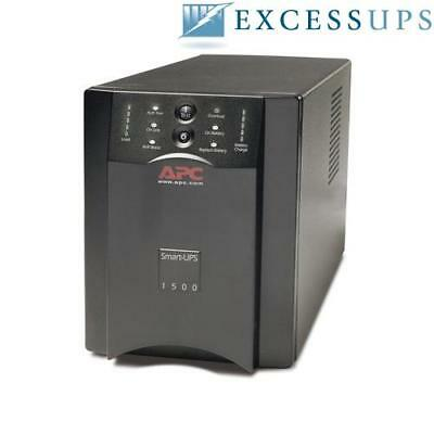 APC Smart-UPS 1500VA 120V SUA1500 - Refurbished