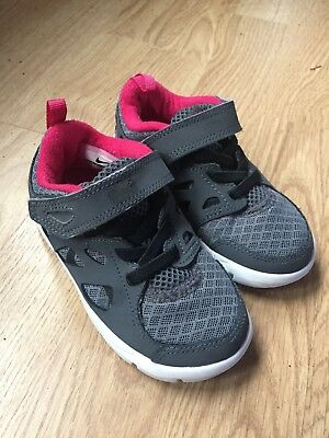 online store a1e4b 3c807 Unisex Nike Free Run 2 Shoes Black Gray Pink Athletic Toddler US 8c