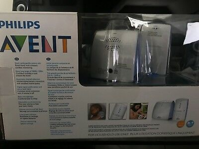 Philips AVENT Baby Monitor with DECT Technology SCD510