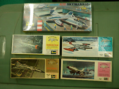 Revell Vintage Model Kits: Cold War Jet Fighters!