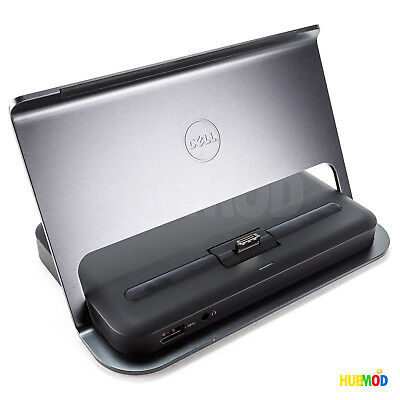 DELL VENUE 11 PRO Tablet 5130 7130 7139 3.0 USB DOCKING STATION 1V3M8 HR73C K10A