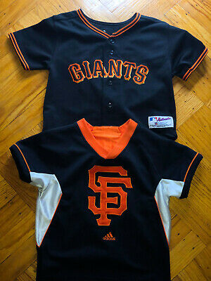 San Francisco SF GIANTS Russell Athletic Kids Baseball MLB Toddler Jersey 4T