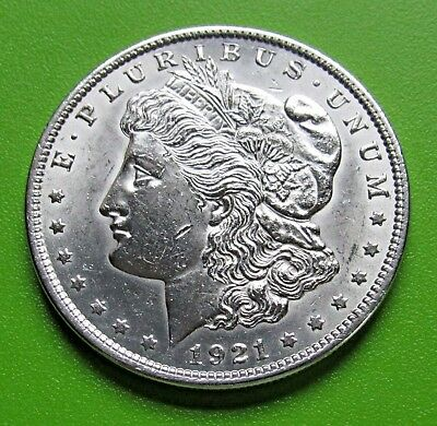 1921 Morgan Silber Dollar