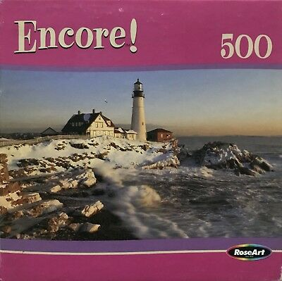 500 Pieces Clementoni Portland Head Lighthouse High Quality Jigsaw Puzzle
