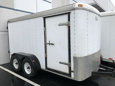 PACE 6' x 12' Dual Axle Cargo Enclosed Trailer utility Trailer Motorcycle traile