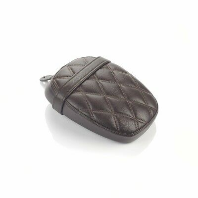 Triumph Motorcycle Pilion Seat, Speedmaster, Quilted, Brown, A9701501