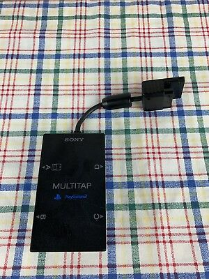 Playstation 2 Multitap Adapter Official Sony PS2 Multiplayer SCPH-10090