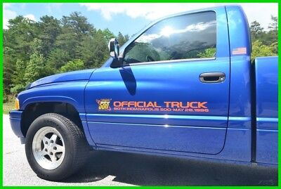 1996 Dodge Ram 1500 INDY 500 SPECIAL EDITION 2,992 MILES SHOWROOM NEW DOCUMENTED 5.9L V8 AUTO FULLY LOADED TIME CAPSULE PERFECT CONDITION ALL ORIGINAL LIKE NEW!