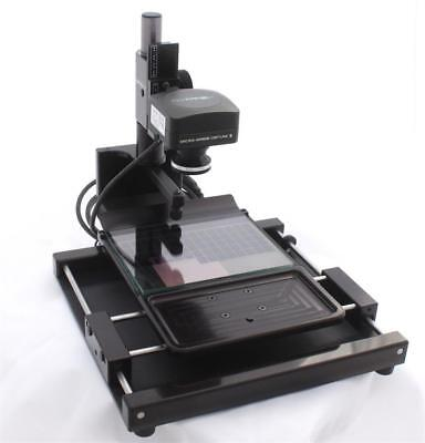 Micro-Image Capture 8 Microfiche and Aperture Card Scanner w/ 20MP USB 3.0